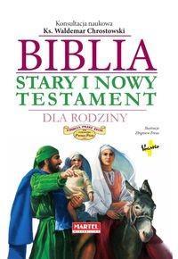BIBLIA STARY I NOWY TESTAMENT DLA RODZINY outlet