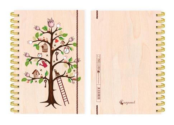 Kołonotatnik ozdobny A6 Drzewo Życia 50 stron