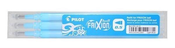 Wkład FriXion Ball Clicker 0,5 lazur (3szt) PILOT
