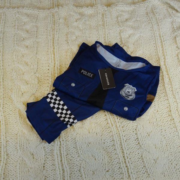 Kostium POLICJANTA RESERVED rozm: 98/104