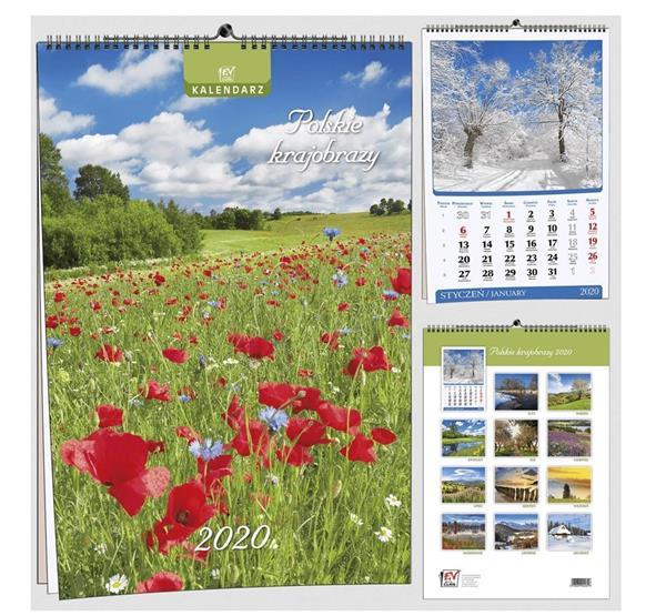 Kalendarz 2020 13 Plansz B3 - Pl krajobraz EV-CORP