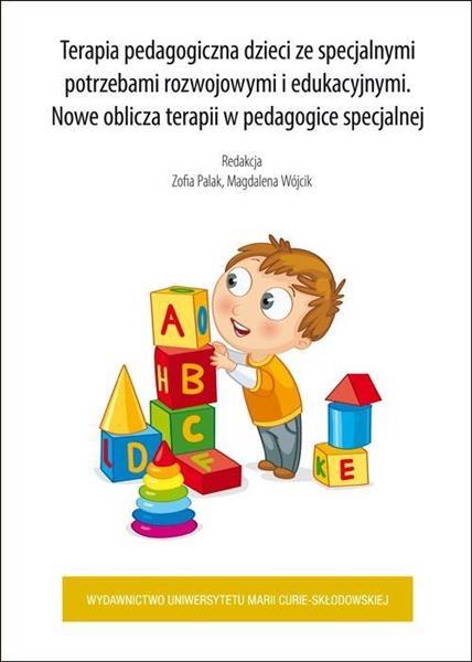Terapia pedagogiczna dzieci ze specjanymi potrzeba