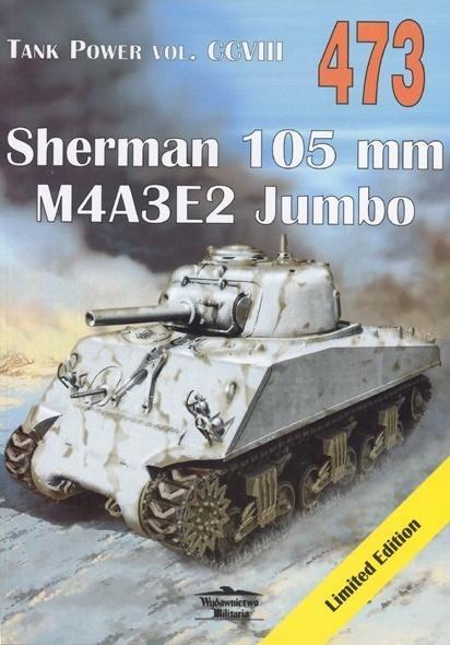 Sherman 105 mm. Tank Power vol. CCVIII 473