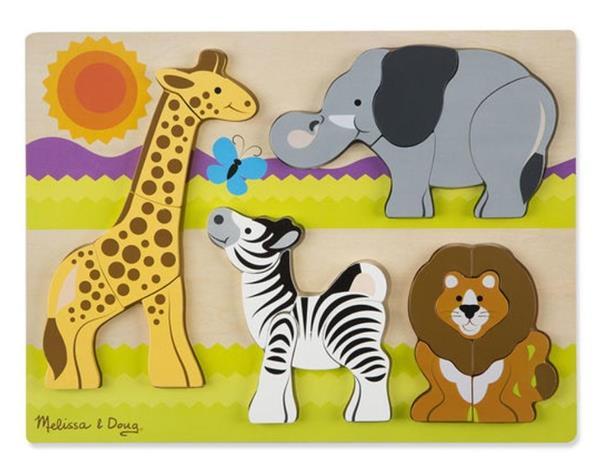 Układanka drewniana Safari