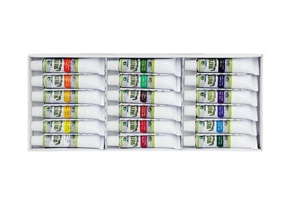 Farby akwarelowe E 1338 B 18 kolorów 12ml MARIES