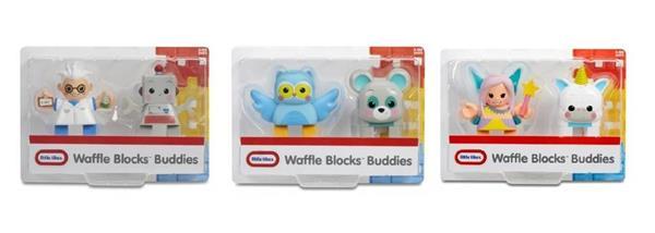 Waffle Blocks Figurki 2-pak display (4szt)