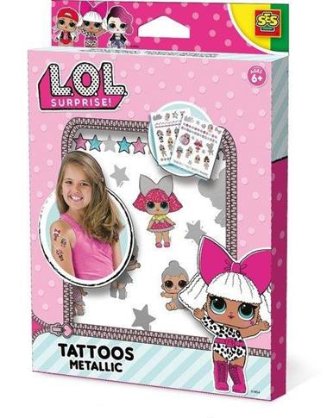 LOL Metaliczne tatuaże