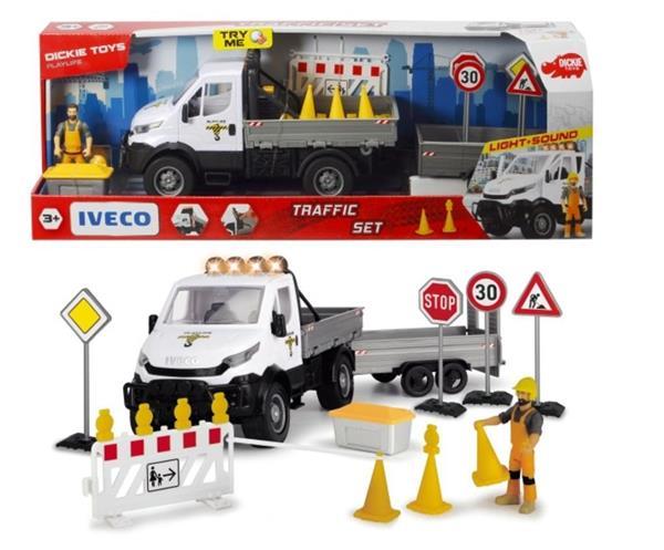 Play Life Zestaw nadzoru ruchu drogowego 42cm