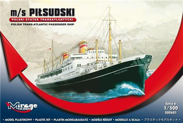 Statek Transatlantycki m/s Piłsudski Polski
