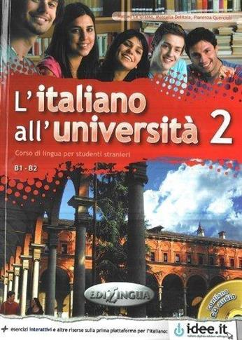 L'Italiano All'Universita 2 B1-B2 podr.+ ćw.+ CD