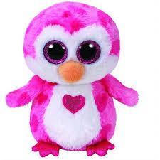 TY BEANIE BOOS- pingwin Juliet 15cm