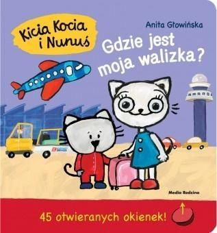 Kicia Kocia i Nunuś. Gdzie jest moja walizka?
