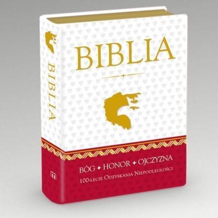 Biblia 100 -lecie odzyskania niepodleg.-złocony b.