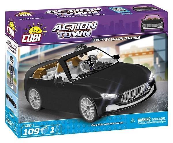 Action Town Sportowe Cabrio Cobra 109 klocków