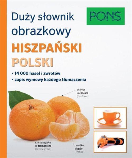 Duży słownik obrazkowy hiszp-pol PONS
