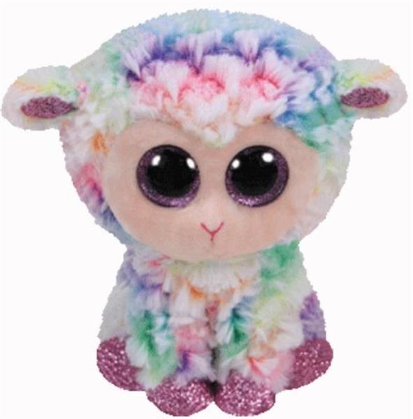 Beanie Boos Bloomy - Pastelowa Owieczka 15 cm