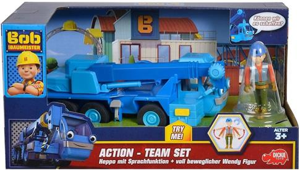 BOB Bob budowniczy Dźwig + figurka Marty
