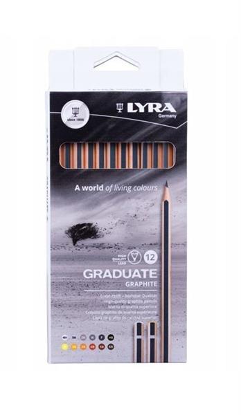 Ołówki grafitowe 12szt 1171120