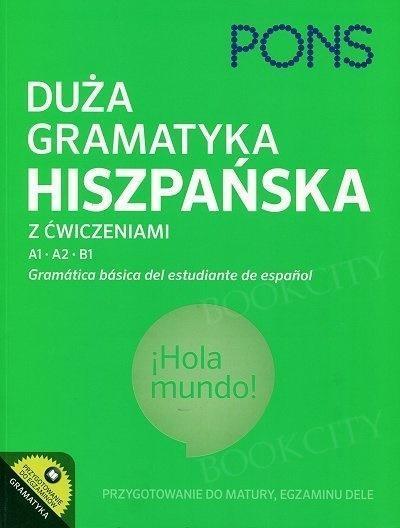Duża gramatyka hiszpańska z ćwiczeniami PONS
