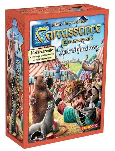 Carcassonne 10 - Cyrk objazdowy Edycja 2