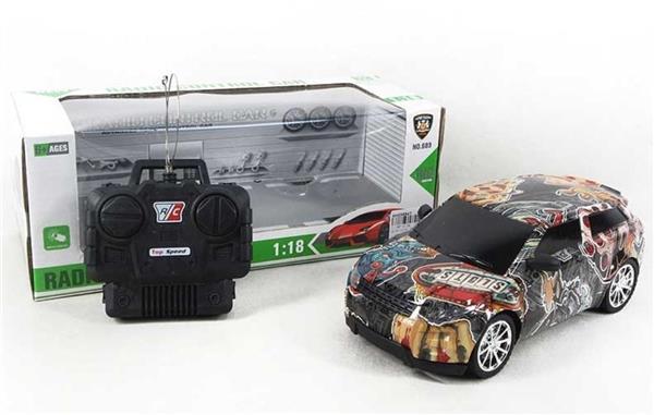 Auto na radio 22 cm