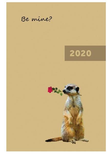 Kalendarz 2020 A5 tygodniowy Be mine NARCISSUS