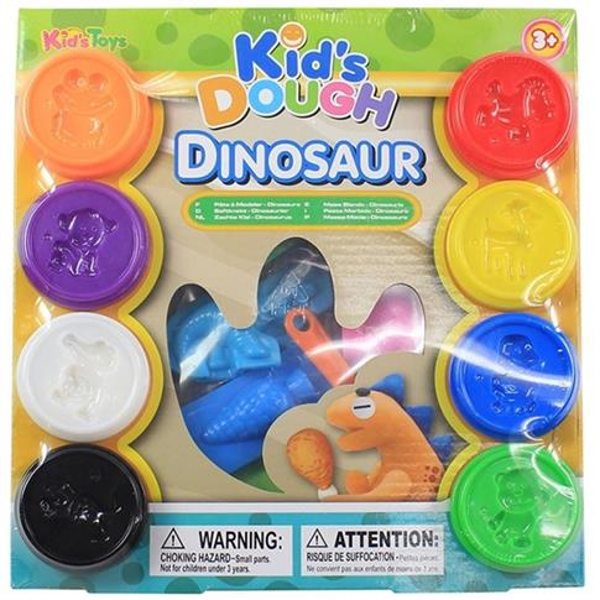 Ciasto-masa Dinozaury