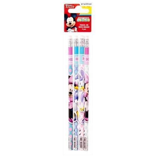 Ołówek z gumką Minnie 4el
