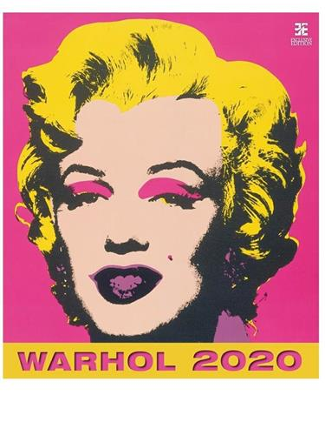 Kalendarz 2020 Andy Warhol Ex HELMA