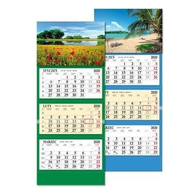 Kalendarz 2020 trójdzielny SB6 MIX