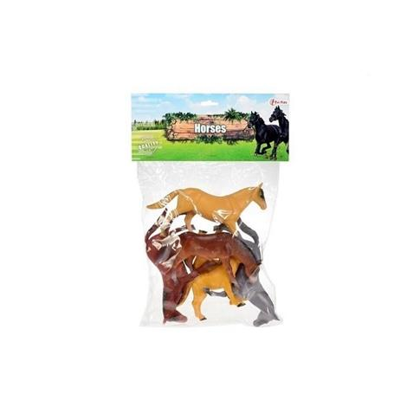 6 sztuk koni w woreczku