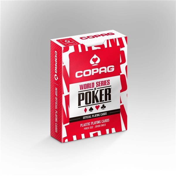 Karty do gry COPAG 310 czerwone CARTAMUNDI