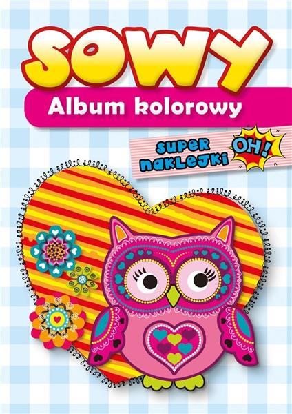 Album kolorowy - Sowy