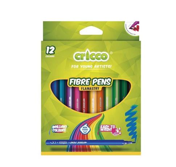 Flamastry 12 kolorów CRICCO