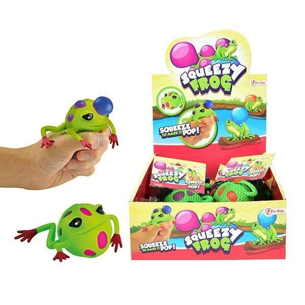 Squeeze me Wyciskana żabka