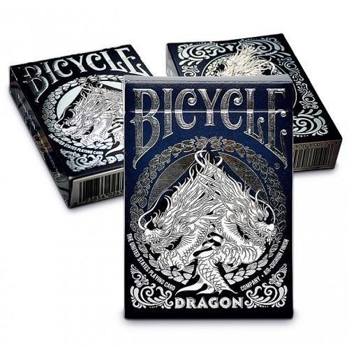 Karty Dragon White Premium BICYCLE