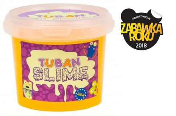 Slime brokat neon pomarańczowy 1kg TUBAN