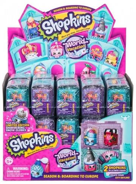 Shopkins S8 Wakacje 2-pak (30szt)