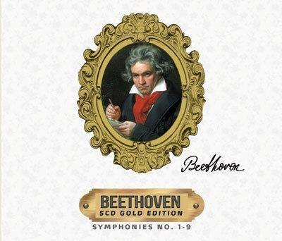 Ludwig van Beethoven: 5CD Gold Edition CD