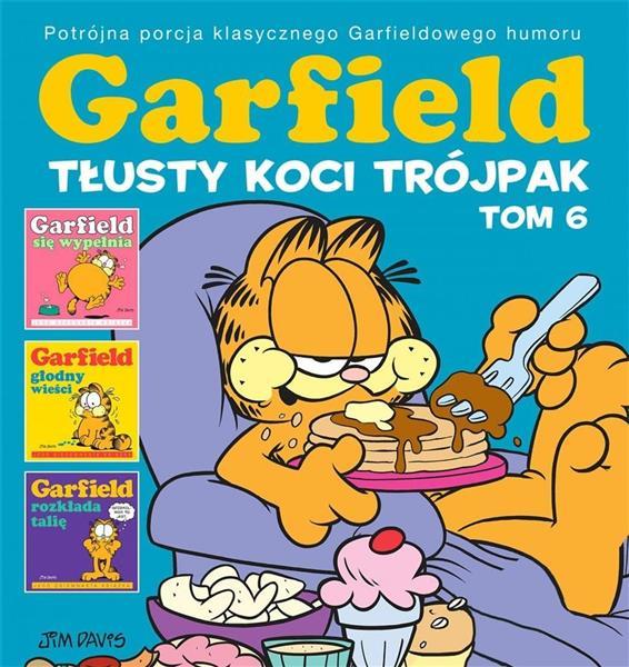Garfield T.6 Tłusty koci trójpak