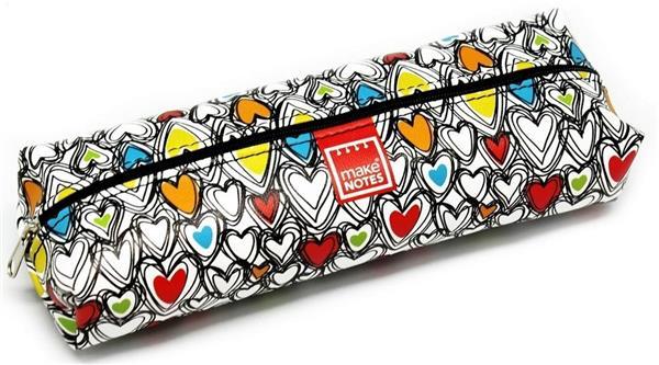 Colorful hearts Piórnik duży