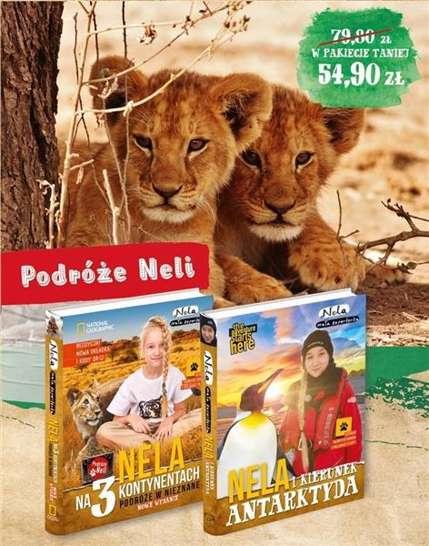Pakiet 6: Nela na 3 kontynentach/Nela i kierunek..