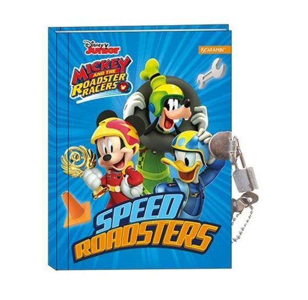 Pamiętnik z kłódką Mickey Mouse