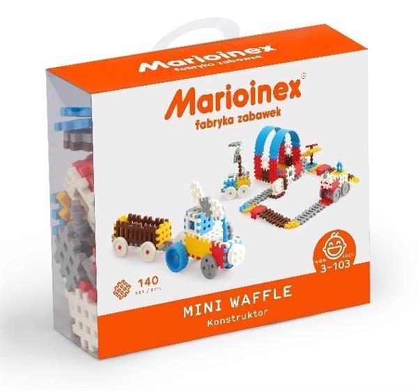 Mini Waffle 140 elementów Konstruktor Chłopiec