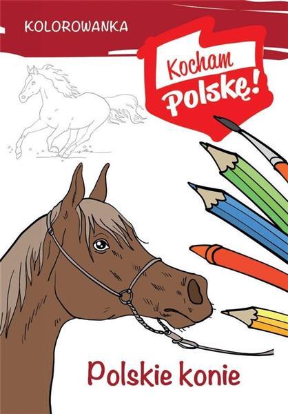 Kolorowanka. Polskie konie