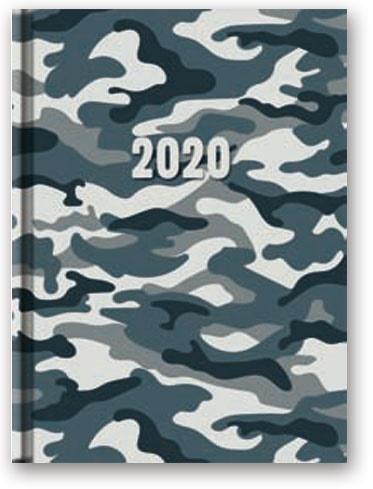 Kalendarz 2020 Dzienny A5 Soft Moro 21DS-02