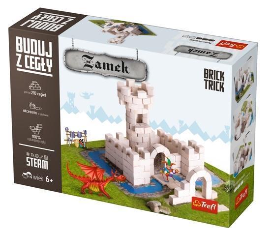 Brick Trick - buduj z cegły Zamek TREFL