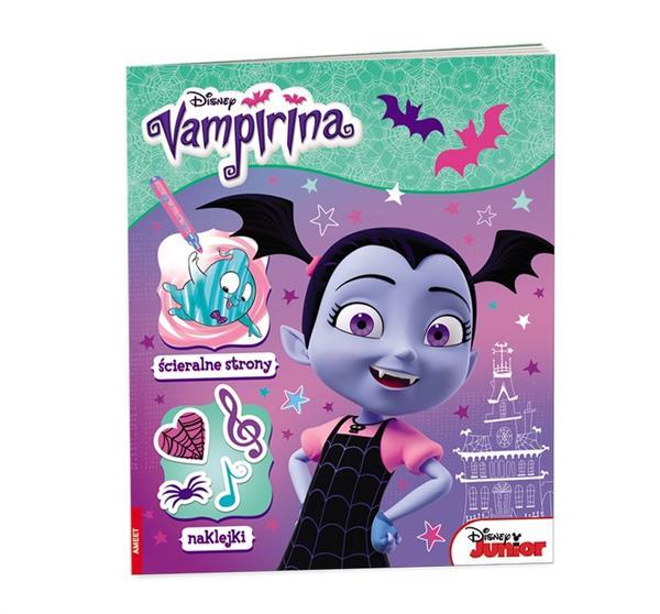Vampirina. Ścieralne strony i naklejki