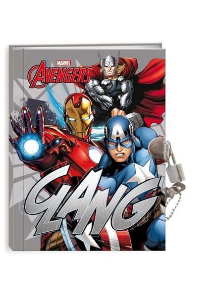 Pamiętnik z kłódką Avengers