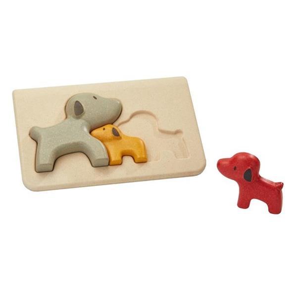 Puzzle drewniane Pieski